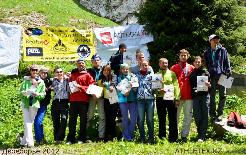 Финальные протоколы Альпинистское Двоеборье 2012