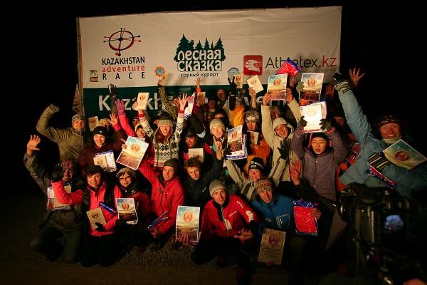 Результаты Kazakhstan Adventure RACE 2012