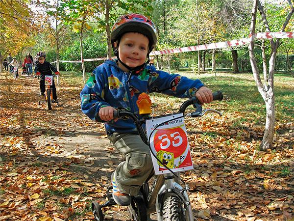 Велосоревнования для малышей