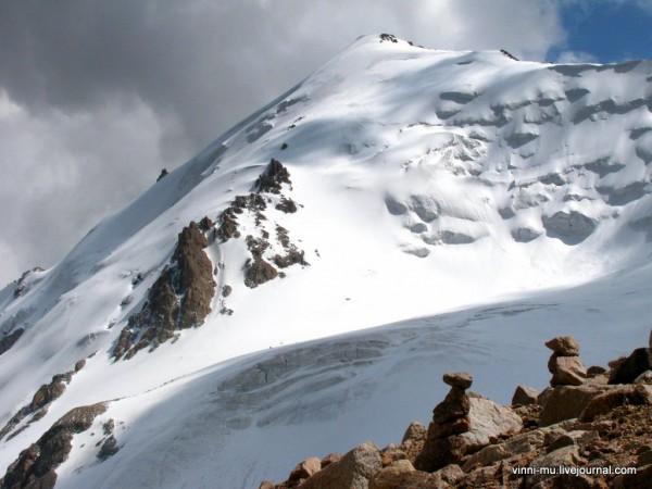 Вершина Молодая Гвардия 4395м.