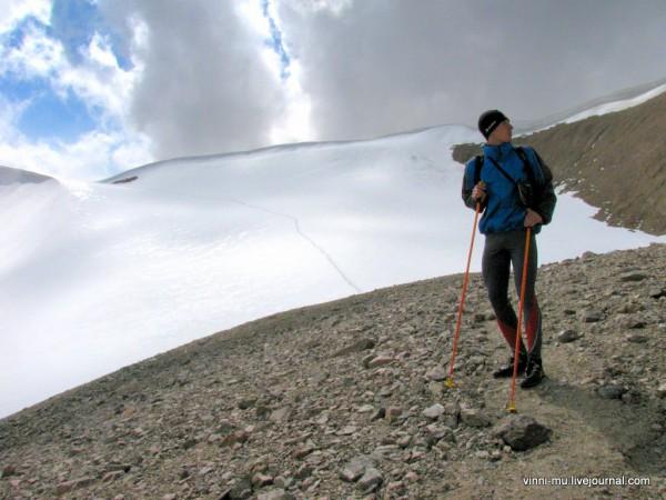 Перевал Туристов 1А категории сложности.