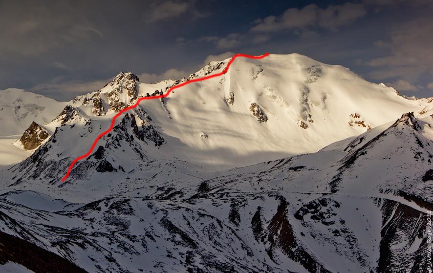 Альпиниада на  пик Молодежный (4147 м), 20 сентября 2015