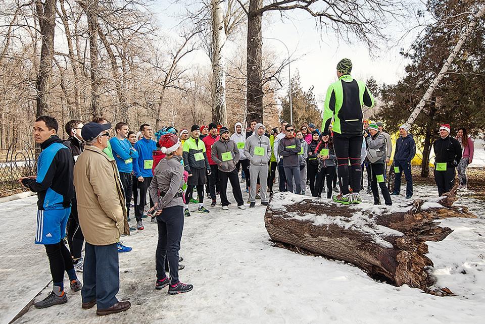 Результаты I Алматинского Новогоднего Марафона 2016