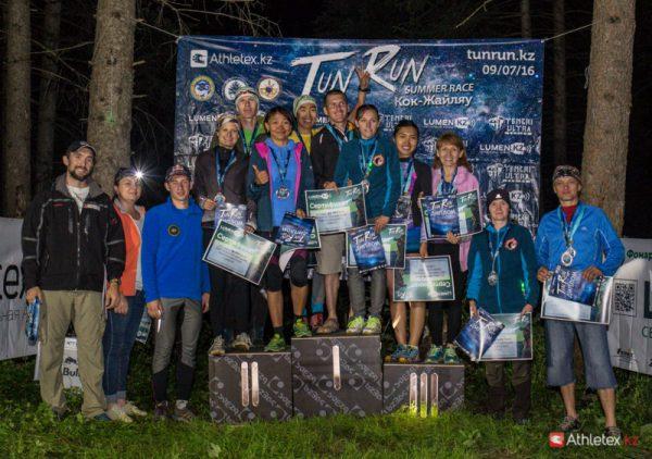 Финальные протоколы Tun Run 2016. Summer Edition