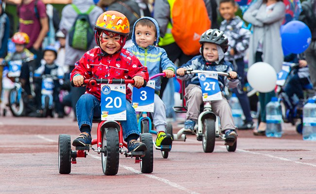 Tour de Kids 2018 - 3 июня Нархоз
