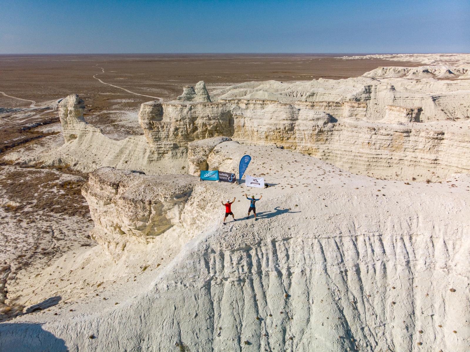 XIV финиш в проекте I Run Kazakhstan!